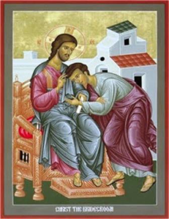 Cristo el novio. Cuadro pintado por Robert Lentz para Nouwen - copia