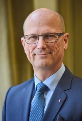 Emmerich mayor Peter Hinze. Photo by Markus van Offern via City of Emmerich