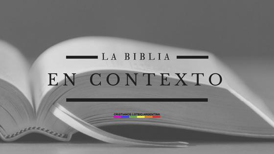 contexto biblico